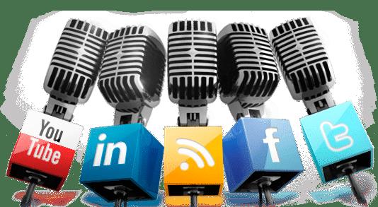 Micròfons xarxes socials