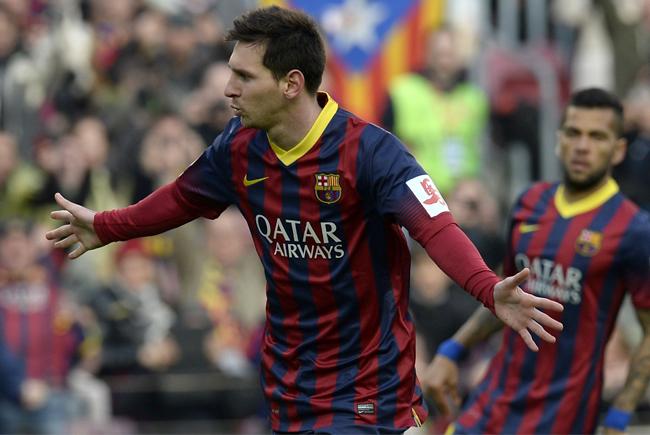 Celebració Messi