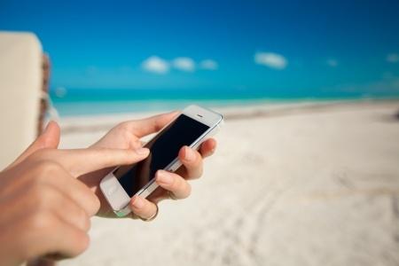 Smartphone mar