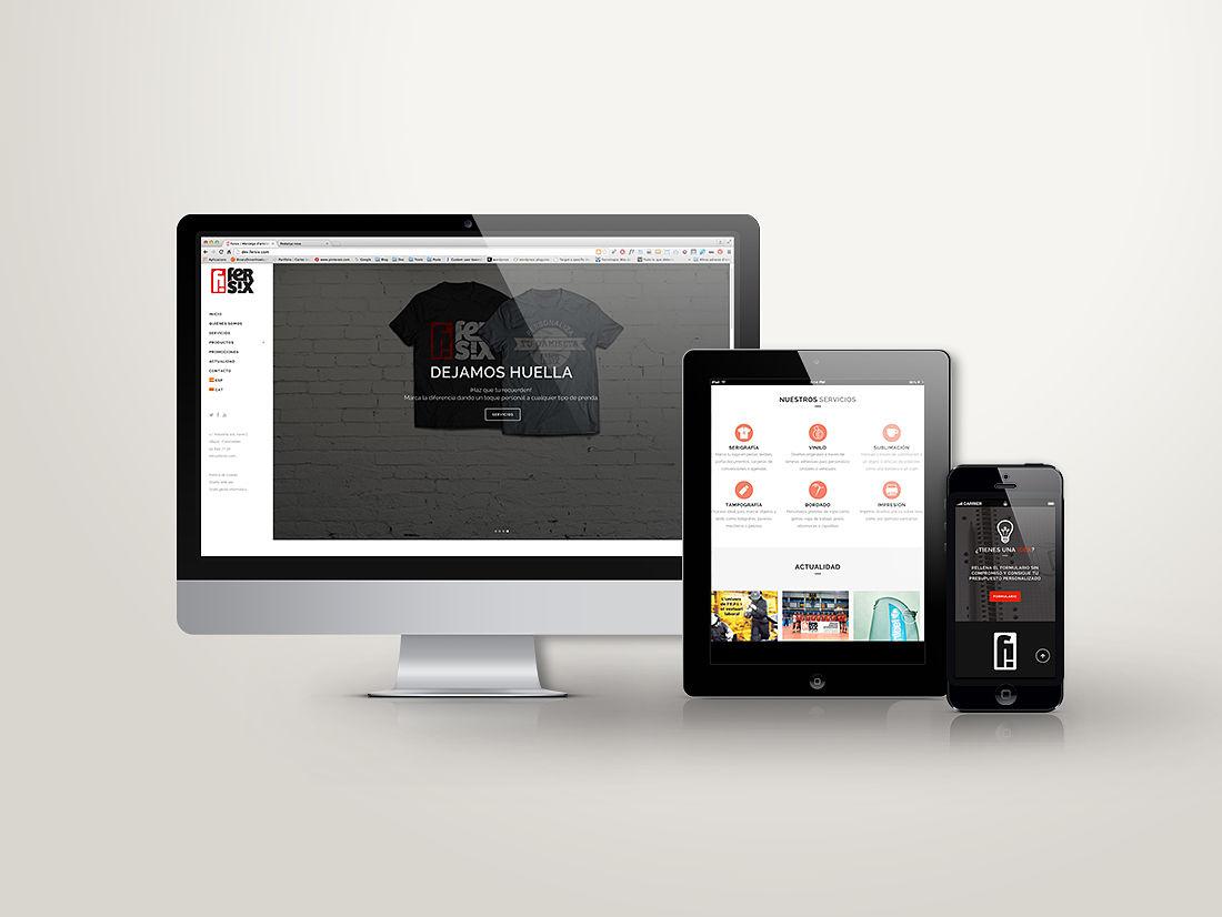 disseny web fersix